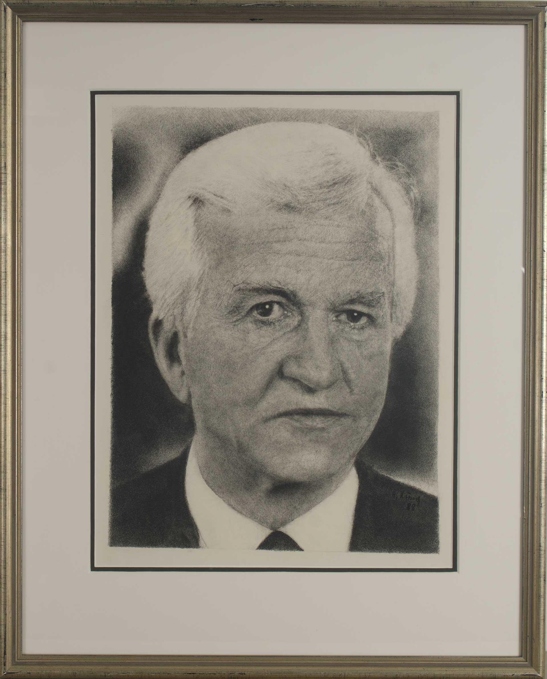 Altbundespräsident Richard von Weizsäcker