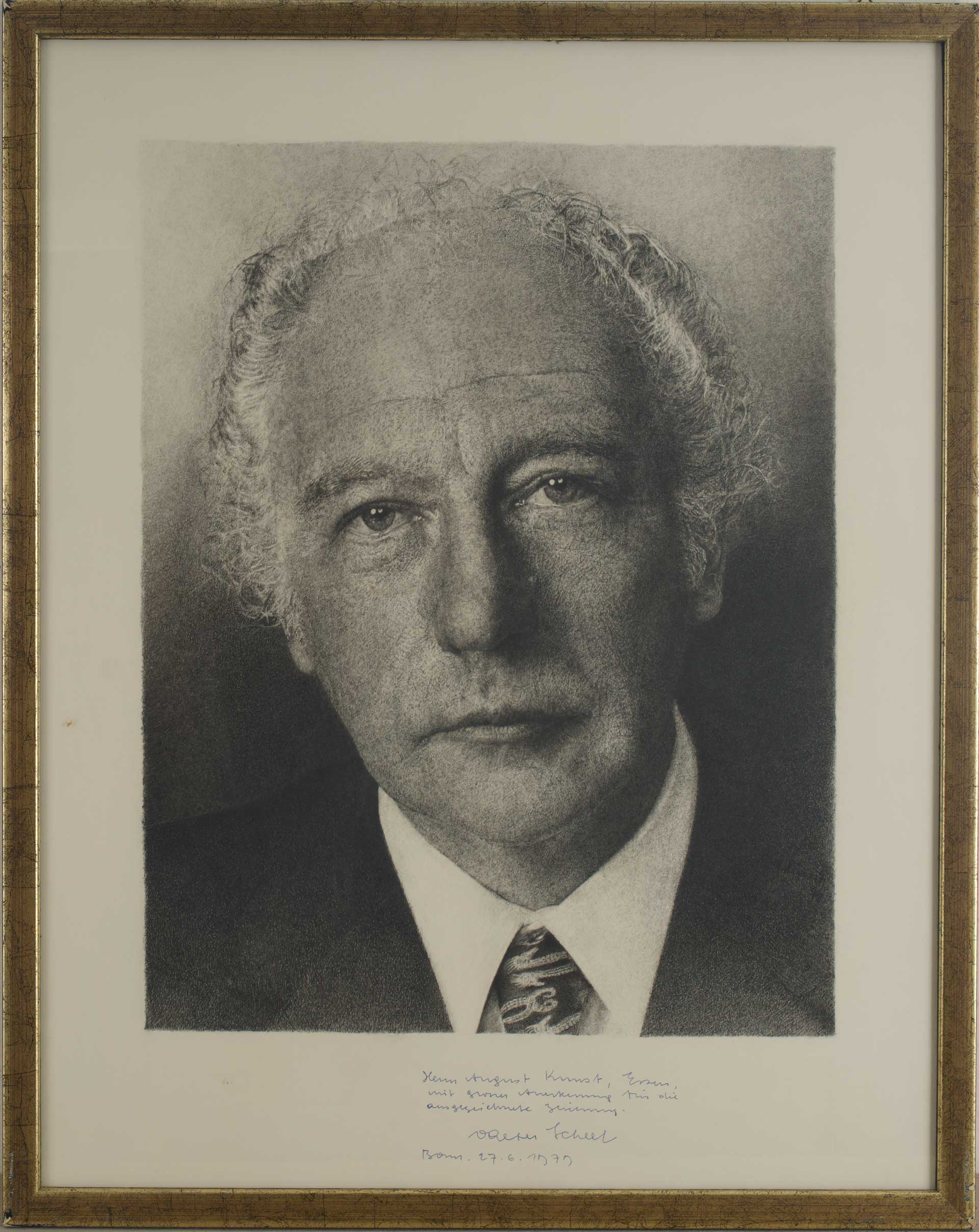 Altbundespräsident Walter Scheel